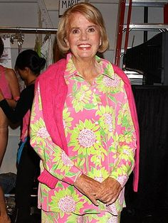 RIP The Queen of Pink and Green, Lilly Pulitzer. You will never be forgotten.