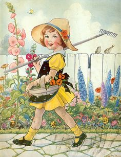 Eulalie Osgood - A gardening we will go.