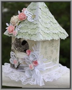 178..chic and more...Bird House