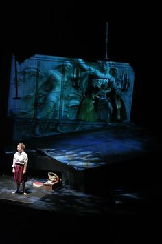 Eurydice. Concordia College. Scenic design by Anthony Panfili. 2010