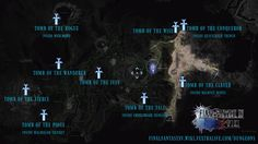 FFXV Royal Tombs Map [Fextralife.com]