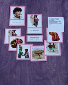 South America People Cards