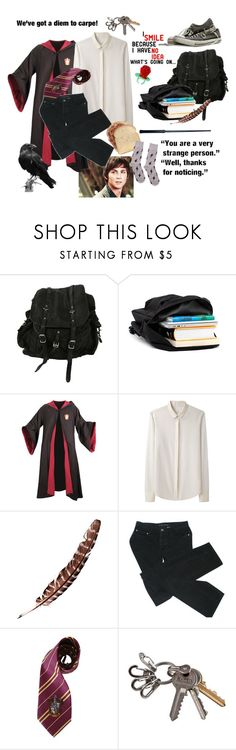 """""""Albus Severus Potter, Half-Blood// First Day"""" by proudmudbloods ❤ liked on Polyvore featuring AllSaints, rag & bone, Marc by Marc Jacobs, CC SKYE and Happy Socks"""