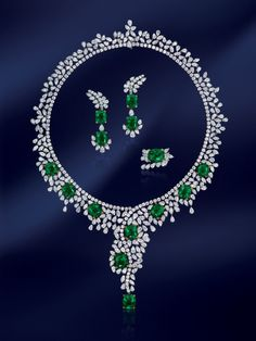 Emerald set from the Dehres Collection