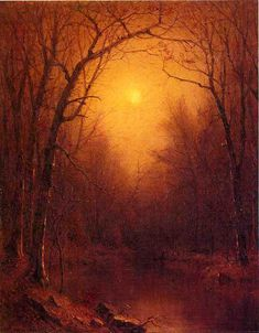 Indian Summer in the Bronx Sanford Robinson Gifford - 1867