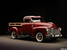 Read More About 1951 Chevrolet pick~up. Antique Trucks, Vintage Trucks, Antique Cars, Chevrolet Silverado 1500, Chevrolet Trucks, Silverado Truck, Toyota Trucks, Classic Chevy Trucks, Classic Cars