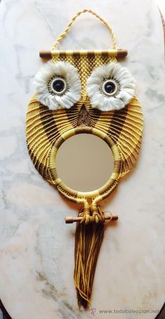 Espejo buho macramé - Foto 1
