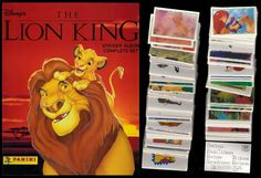 Panini Lion King Pegatinas 20 Bolsas 80 Pegatinas 20 Tarjetas