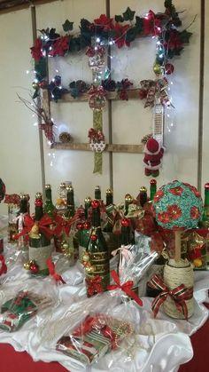 Decoração de Natal - Grupo da Terceira Idade Bem Viver-CSSam 01.