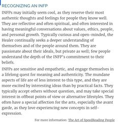 Recognizing an INFP