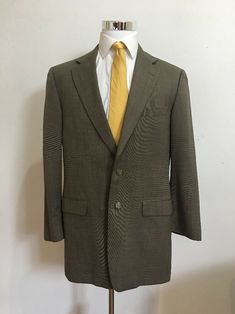 1a831f8a944459 Burberrys Men's Brown WOOL Suit 42L Pants 35x33 #fashion #clothing #shoes  #accessories