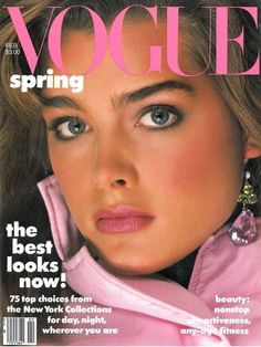 Brooke Shields  -  Vogue US Feb 1982 by Richard Avedon