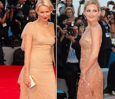 Naomi Watts y Kate Hudson, gemelas en la alfombra roja de la Mostra de Venecia #actress #people #celebrities #fashion #redcarpet