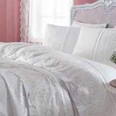 Donna-Nevresim / Duvet Cover Çarşaf / Sheet Baş Yastık / Pillow Kırlent / Throw Pillow Pike / Pique Pike Yastık / Pique Pillow Alt Açma / Bathinette Battaniye / Blanket Oyuncak Yastık / Toy Pillow Bornoz / Bathrobe 6'lı Ağız Bezi / 6 pieces of baby mouth cloth Kese / Pouch