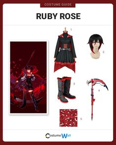 Dress Like Ruby Rose