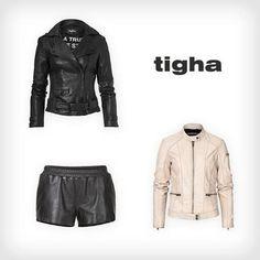 We <3 leather #tigha #designer #fashion