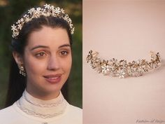 """In the episode 2x09 (""""Acts of War"""") Queen Mary wearsthis Paris by Debra Moreland Trina Headband ($540)."""