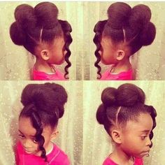 Hairstyles For Black Little Girls So Adorable Christyanaking  Httpsblackhairinformation