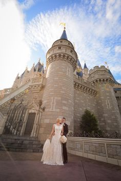Towering castles and fairy tale wishes at Disney's Magic Kingdom. Photo: Stephanie at Disney Fine Art Photography