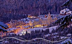 Whistler, favorite place I have skied.  It is that spectacular!  I want to go back.