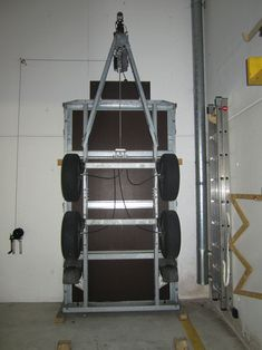 Trailer storage Van Storage, Trailer Storage, Utility Trailer, Shed Storage, Garage Storage, Garage Organisation, Shop Organization, Workshop Storage, Garage Workshop