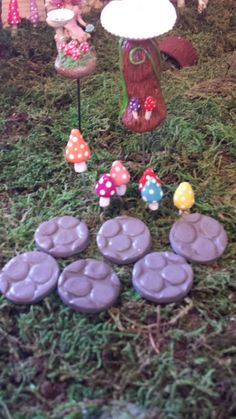 Check out this item in my Etsy shop https://www.etsy.com/listing/230392279/miniature-fairy-garden-14-piece-set