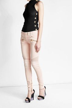 Fashion shopping balmain woman cheap in gallery - Dresses and the latest fashion trends 2018 Skinny Biker Jeans, Balmain Dress, Latest Fashion Trends, Capri Pants, Trends 2018, Shopping, Collection, Dresses, Woman