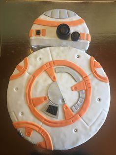 #cake #cakedesigne #starwars #bb8
