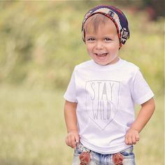 Stay+WILD+Tee+Toddler+tshirt+Trendy+kids+clothes+by+SandiLake,+$19.00