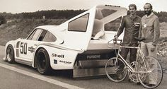 The Martini Porsche 935 and the World Speed Record for Cyclists | Classic Driver Magazine