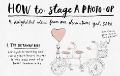 how to set up the cutest photo booth ever! I LOVE this infographic... can't wait to do it at my wedding.
