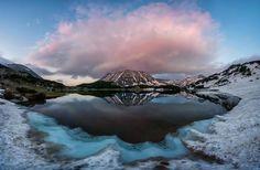 The Muratovo lake and the Todorka volcano in Pirin National park, Bulgaria. Photo by: Rashkovski Facebook: Rashkovski Photography