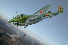 Russian Air Force, The Big Four, Ww2 Aircraft, Aviation Art, Military Art, World War Ii, Wwii, Fighter Jets, History