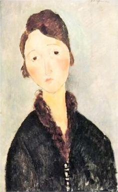 amadeo modigliani portrait of a young woman