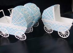 Enfeite carrinho bebê Scrap