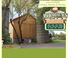 Morden's Organic Farm Store - Wild & Organic Meats and much more