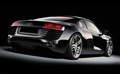 1920x1200 Wallpaper Audi R8 Desktop Phone Wallpapers Luxury Sports Cars Car Vehicle Race Racing Black Backgrounds