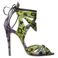 Sandales UMA de Brian Atwood, Printemps-Eté 2013 / SS2013  http://www.tendance-talons.com/2013/03/collection-chaussures-brian-atwood-printemps-ete-2013.html#