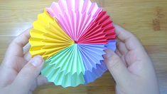 Easy and amazingly fun.Easy and amazingly fun Paper Crafts Origami, Fun Diy Crafts, Paper Crafts For Kids, Crafts For Teens, Diy Paper, Origami Ring, Instruções Origami, Origami Videos, Origami Simple