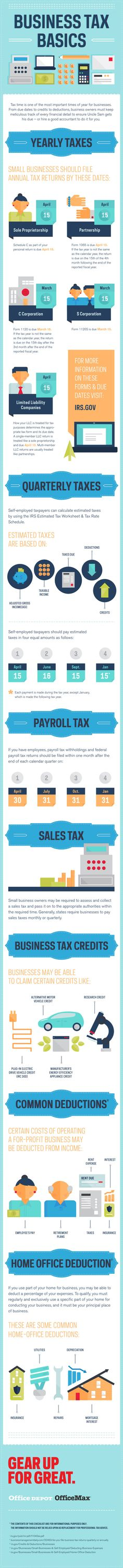 135 best infographics images on pinterest info graphics business tax basics small business office depot premium infographic solutioingenieria Image collections