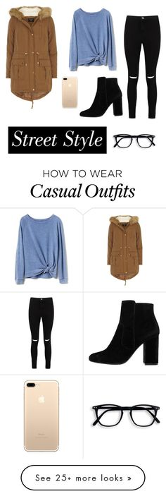 """cAsuaL satUrdAy"" by jessica-bascio on Polyvore featuring Gap, Boohoo, MANGO and Dorothy Perkins"