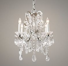 traditional chandeliers by Restoration Hardware Baby & Child