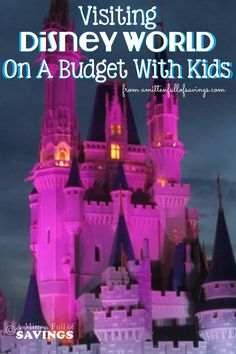 You can easily take your kids to Disney World by making a budget, learning the tricks on what to spend and what to save, but most of all have fun on your vacation! Read Visiting Disney World On A Budget With Kids for tips on how to do Disney! Voyage Disney World, Disney World Planning, Walt Disney World Vacations, Disney World Trip, Disney Cruise, Disney Travel, Family Vacations, Disney Jr, Family Trips