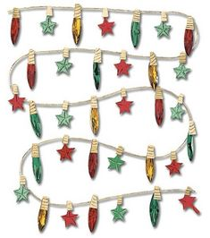 Jolee's Boutique Dimensional Stickers-Christmas LightsJolee's Boutique Dimensional Stickers-Christmas Lights,