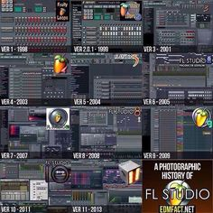 Music Production - The history of Fruity Loops. Music Production - BTV Professional Music Production Software works as a standalone application or with your DAW as a VST or AU plugin (optional). Drum Patterns, Fruity Loops, Recorder Music, Sound Waves, Recording Studio, Electronic Music, My Music, Software, Songs