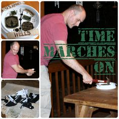 Army Discharge Party Game: Time Marches On