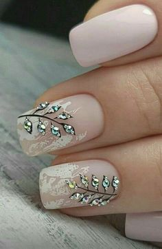 NagelDesign Elegant ( 25 Elegant Nail Designs t. ) NagelDesign Elegant ( 25 Elegant Nail Designs t. Cute Nail Art Designs, Elegant Nail Designs, Easy Nail Art, Cool Nail Art, Cute Nails, Pretty Nails, Manicures, Gel Nails, Nail Polish
