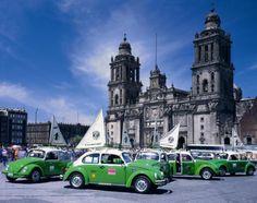 Mexico City Metropolitan Cathedral- cd. de méxico en el tiempo