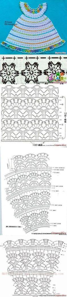 """""""Цветочная феечка"""" по МК Оксаны Заднепровской [] #<br/> # #Crochet #Baby #Clothes,<br/> # #Crochet #Dresses,<br/> # #Baby #Dress,<br/> # #Baby #Clothes,<br/> # #Knit #Dresses,<br/> # #Kid #Clothes,<br/> # #Crochet<br/>"""
