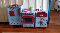 Cozinha de papelão - DIY